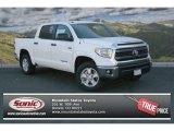 2014 Super White Toyota Tundra SR5 Crewmax 4x4 #91448949