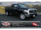 2014 Black Toyota Tundra SR5 Double Cab 4x4 #91448947