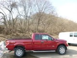 2014 Ruby Red Ford F150 XLT SuperCab 4x4 #91449096