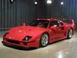 1990 Ferrari F40 Standard Model Data, Info and Specs