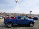 2014 Blue Flame Ford F150 XLT SuperCab 4x4 #91449095