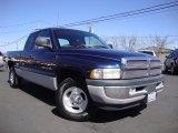 2001 Patriot Blue Pearl Dodge Ram 1500 SLT Club Cab #91449358