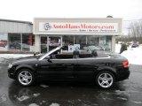 2008 Brilliant Black Audi A4 2.0T quattro Cabriolet #91449346