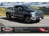 2014 Magnetic Gray Metallic Toyota Tundra SR5 Double Cab 4x4 #91493692