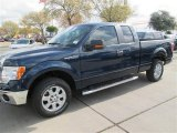 2014 Blue Jeans Ford F150 XLT SuperCab #91493780