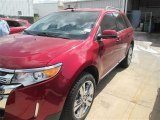 2014 Ruby Red Ford Edge Limited #91493776