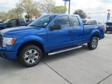 2014 Blue Flame Ford F150 STX SuperCab #91493773