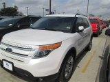2014 White Platinum Ford Explorer Limited #91493770