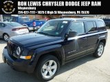 2014 True Blue Pearl Jeep Patriot Latitude 4x4 #91493863
