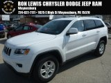 2014 Bright White Jeep Grand Cherokee Laredo 4x4 #91493860