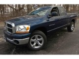 2006 Atlantic Blue Pearl Dodge Ram 1500 SLT Quad Cab 4x4 #91493907