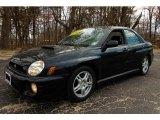 Midnight Black Pearl Subaru Impreza in 2002