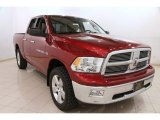 2012 Deep Cherry Red Crystal Pearl Dodge Ram 1500 SLT Quad Cab 4x4 #91518231