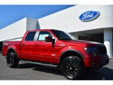2014 Ruby Red Ford F150 FX4 SuperCrew 4x4 #91518065