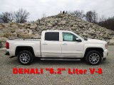 2014 White Diamond Tricoat GMC Sierra 1500 Denali Crew Cab 4x4 #91518412