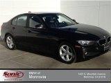 2014 Jet Black BMW 3 Series 320i xDrive Sedan #91559063