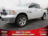 2014 Bright White Ram 1500 Big Horn Crew Cab 4x4 #91558973