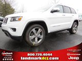 2014 Bright White Jeep Grand Cherokee Limited #91558961
