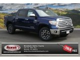 2014 Blue Ribbon Metallic Toyota Tundra Limited Crewmax 4x4 #91558727