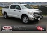 2014 Super White Toyota Tundra SR5 Crewmax 4x4 #91558726