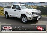 2014 Super White Toyota Tundra SR5 Double Cab 4x4 #91558724