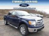 2014 Blue Jeans Ford F150 XLT SuperCrew 4x4 #91558950
