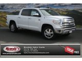 2014 Super White Toyota Tundra 1794 Edition Crewmax 4x4 #91558722