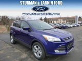 2014 Deep Impact Blue Ford Escape SE 1.6L EcoBoost 4WD #91558949