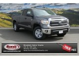 2014 Magnetic Gray Metallic Toyota Tundra SR5 Double Cab 4x4 #91558719