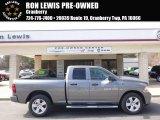 2012 Mineral Gray Metallic Dodge Ram 1500 ST Quad Cab 4x4 #91558939