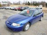 2003 Arrival Blue Metallic Chevrolet Cavalier Coupe #91559030