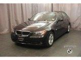 2008 Jet Black BMW 3 Series 328xi Sedan #9099864