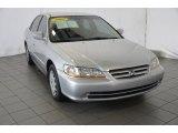 2002 Satin Silver Metallic Honda Accord LX Sedan #91558783
