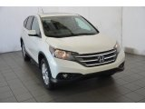 2014 White Diamond Pearl Honda CR-V EX AWD #91558780