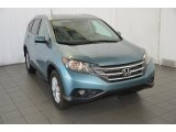 2014 Mountain Air Metallic Honda CR-V EX-L #91558778
