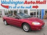 2003 Deep Lava Red Metallic Chrysler Sebring LXi Convertible #91598803