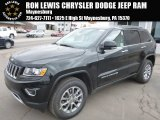 2014 Black Forest Green Pearl Jeep Grand Cherokee Limited 4x4 #91598893