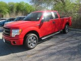 2014 Race Red Ford F150 STX SuperCab #91598707