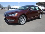 2014 Opera Red Metallic Volkswagen Passat TDI SEL Premium #91598976