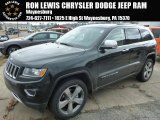 2014 Black Forest Green Pearl Jeep Grand Cherokee Limited 4x4 #91598882