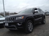2014 Brilliant Black Crystal Pearl Jeep Grand Cherokee Limited 4x4 #91598601