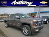 2014 Brownstone Metallic Chevrolet Silverado 1500 High Country Crew Cab 4x4 #91599185