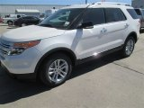 2014 White Platinum Ford Explorer XLT #91598718