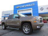 2014 Brownstone Metallic Chevrolet Silverado 1500 High Country Crew Cab 4x4 #91643294