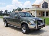 2003 Estate Green Metallic Ford F250 Super Duty King Ranch Crew Cab 4x4 #9112526