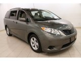 2011 Cypress Green Pearl Toyota Sienna LE #91643408