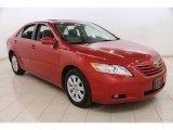 2008 Barcelona Red Metallic Toyota Camry XLE #91643406