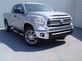 2014 Silver Sky Metallic Toyota Tundra SR5 Double Cab #91643268