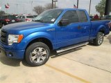 2014 Blue Flame Ford F150 STX SuperCab #91642822
