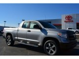 2014 Silver Sky Metallic Toyota Tundra SR Double Cab #91642966